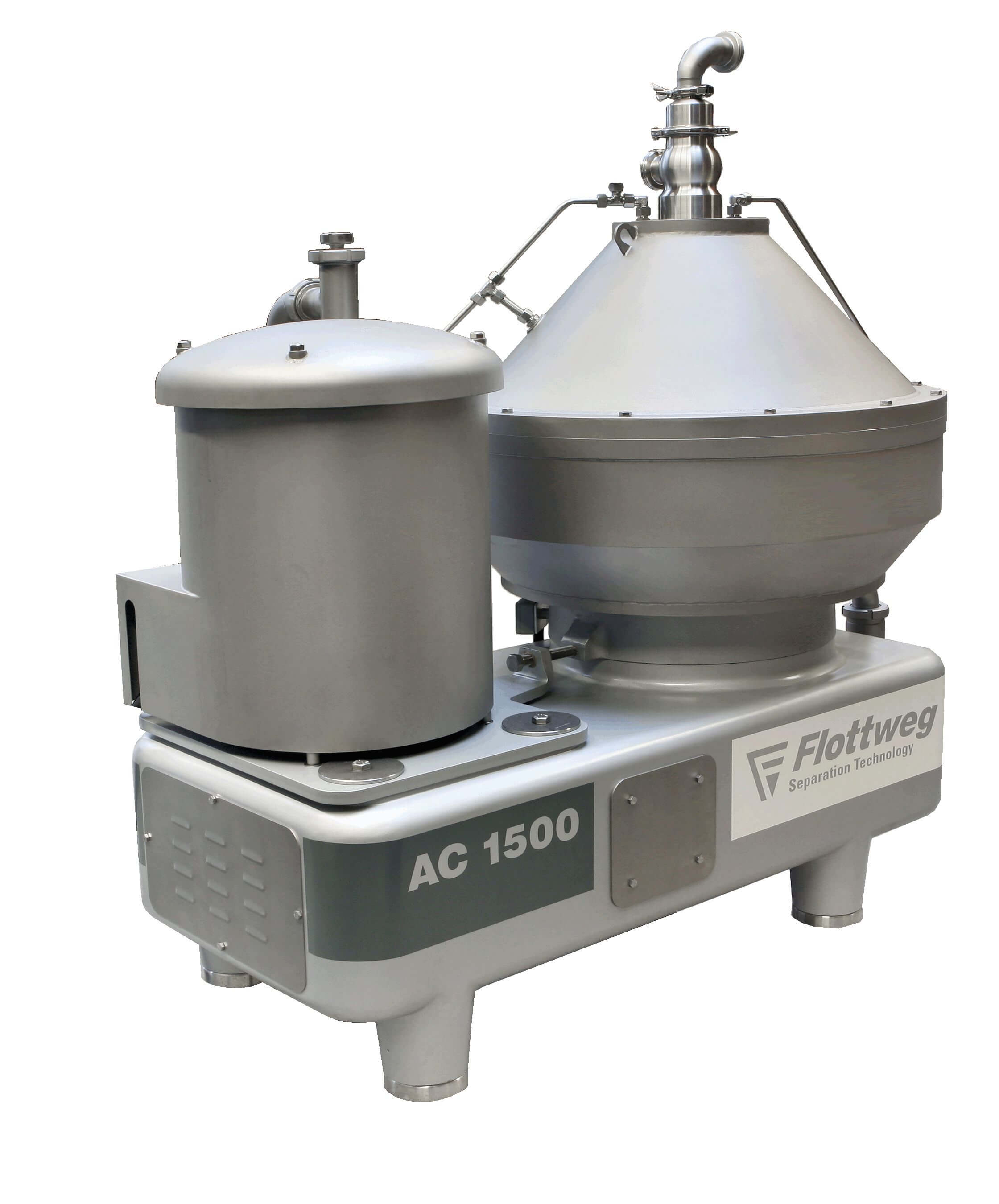 Disc stack centrifuges